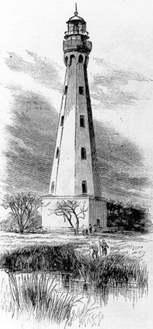 Morris Island Light - Image: Charleston 1767
