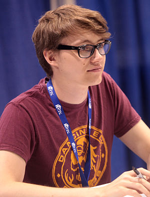 Charlie McDonnell - McDonnell at VidCon in 2014