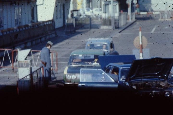 Checkpoint Charlie, East Berlin, February 1975