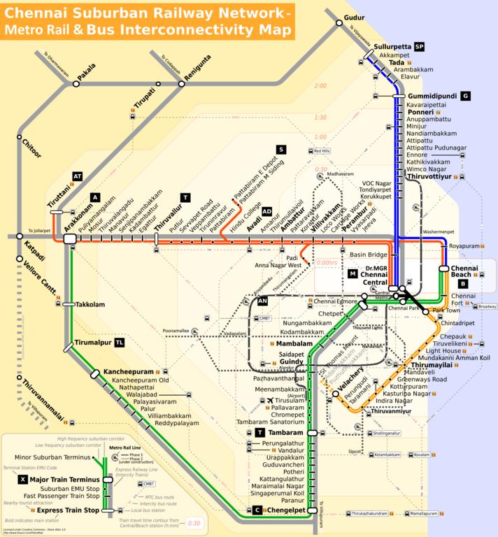 File:Chennai suburban rail and bus interconnectivity map png