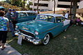 Chevrolet Bel-Air 1955 Sport Coupe LSideFront Lake Mirror Cassic 16Oct2010 (14690703008).jpg