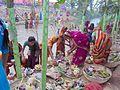 Chhat poja in biratnagar.jpg
