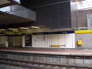 Chichester Metro station Station of the Tyne and Wear Metro