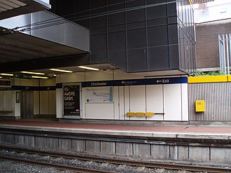 Chichester Metro station - Image: Chichester Metro station