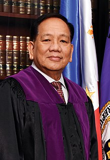 Diosdado Peralta Filipino judge