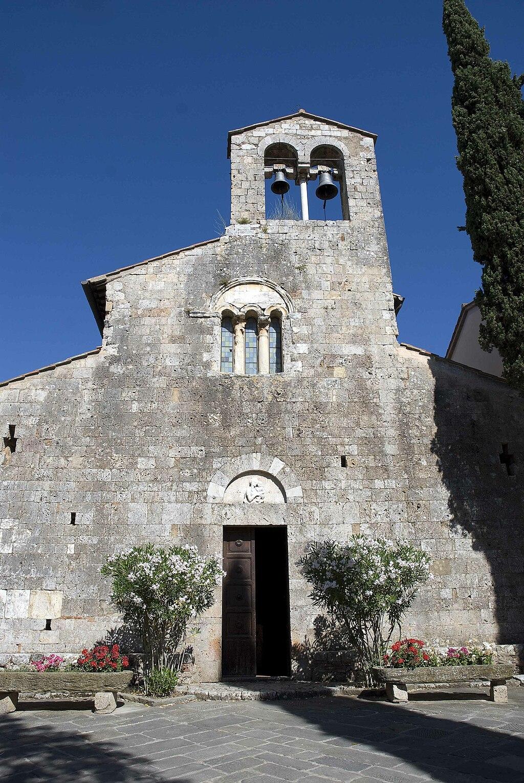 Chiesa di pievescola facciata