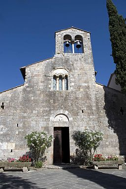 Chiesa di Pievescola facade