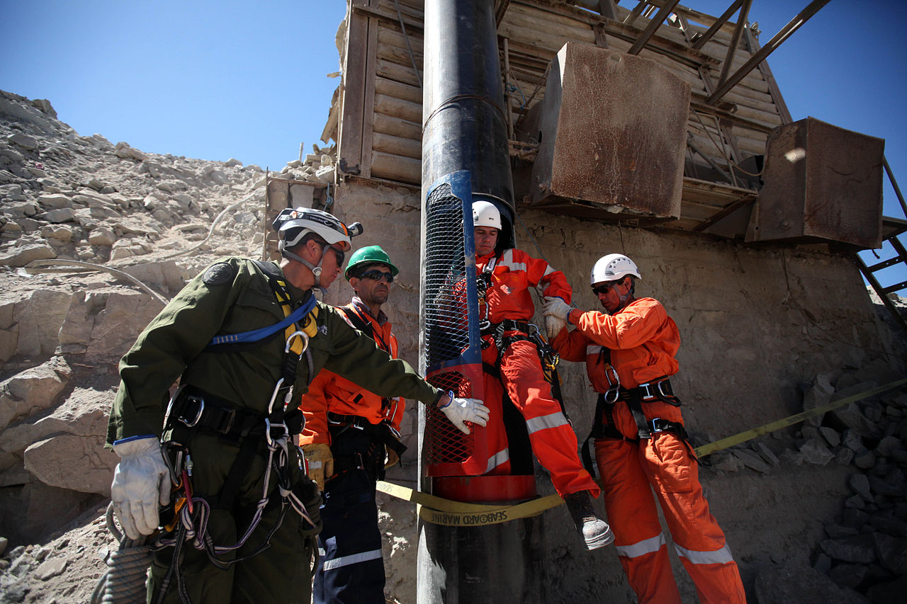 Rescue of miners in chile