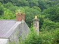 Chimney pots at Rhyd-afallen - geograph.org.uk - 893575.jpg