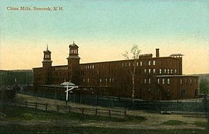 Pembroke, New Hampshire - China Mills in 1909