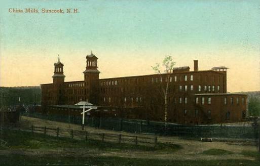 China Mills, Suncook, NH