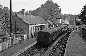 Banbury and Cheltenham Direct Railway - Chipping Norton station in 1962