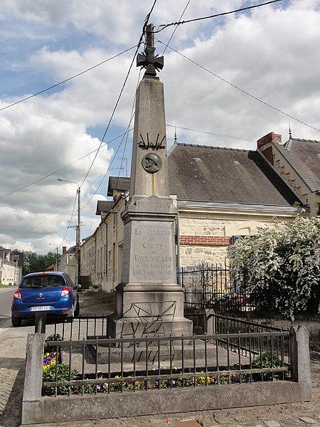 Chivy-lès-Étouvelles (Aisne) monument aux morts