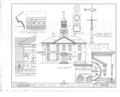 Chowan County Courthouse, East King Street, Edenton, Chowan County, NC HABS NC,21-EDET,2- (sheet 3 of 4).png