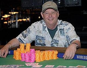 Chris Reslock - Chris Reslock at the 2007 World Series of Poker.