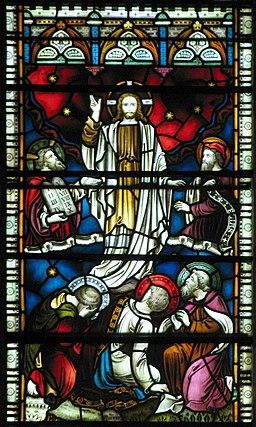 Christ Church, Southgate, London N14 - Window depicting the Transfiguration of Jesus