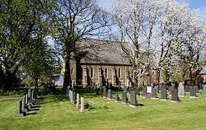 Treales, Roseacre and Wharles - Image: Christ Church, Treales. Photograph by Brian Young