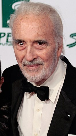 Christopher Lee in 2009