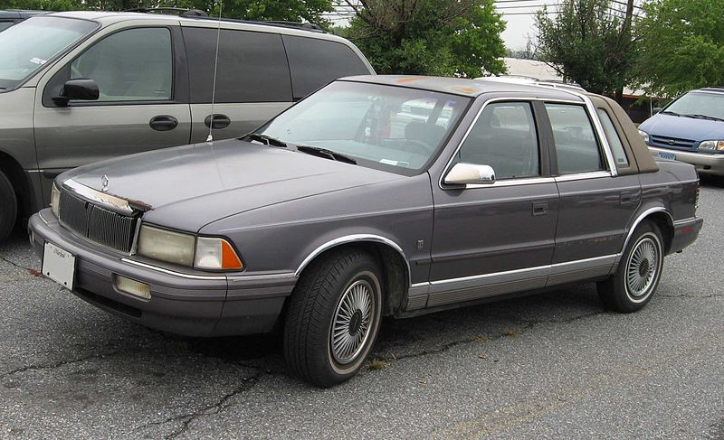 File chrysler lebaron wikimedia commons for 1993 chrysler new yorker salon sedan