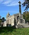 Church and war memorial - geograph.org.uk - 1002418.jpg