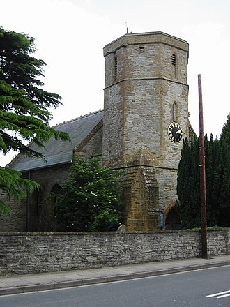 William Arnold (settler) - Church of St. Mary Major, Ilchester, where Arnold was the warden in 1622.