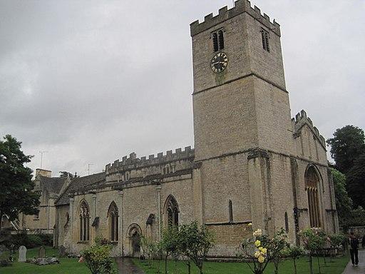 Church of St Mary, Bibury, Gloucestershire (geograph 4661089)