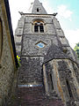 Church of the Holy Innocents, High Beach, Essex, England - tower from east.jpg