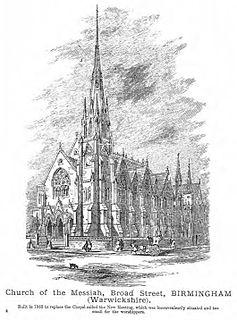 Church of the Messiah, Birmingham Church in Birmingham, England