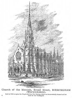 Church of the Messiah, Birmingham - Image: Church of the Messiah, Broad Street, Birmingham