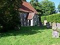 Churchyard, St Mary's Church, Newton Valence - geograph.org.uk - 1338518.jpg