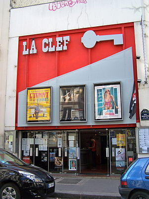 English: The theater La Clef-Images d'ailleurs...