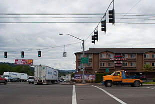Route 212 and SE 82nd Dr. in Clackamas, Oregon