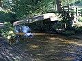Clam bridge and ford - geograph.org.uk - 1733208.jpg