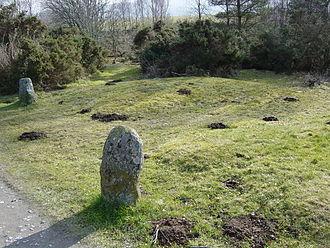 John Prebble - Mass graves of clansmen at Culloden Battlefield.
