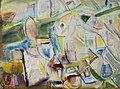 Clara Vogedes - Provence, Abstrakte Landschaft, 1970.jpg