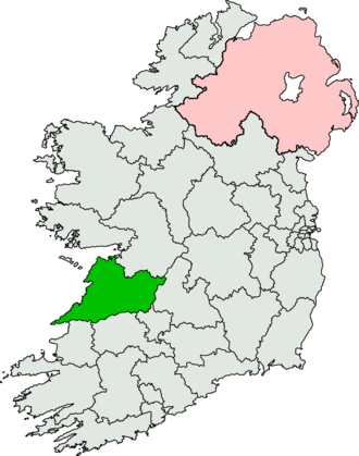 Clare (Dáil Éireann constituency) - Image: Clare (Dáil Éireann constituency)
