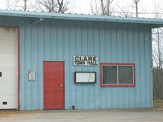 Clare, New York - Clare Town Hall