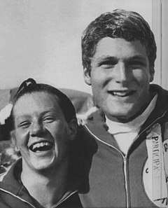 Claudia Kolb and Greg Buckingham 1968.jpg