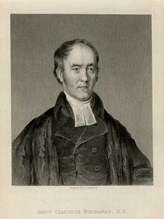 Claudius Buchanan British theologian
