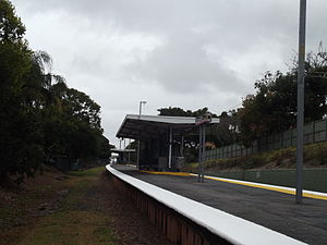 Clayfield Railway Station, Queensland, July 2012.JPG
