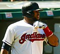 Cleveland Indians vs. Los Angeles of Anaheim (15008289337).jpg