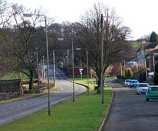 Coal Aston Human settlement in England
