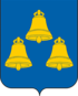 Coat of Arms of Dalmatovo (2006).png