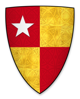 Five-pointed star - Image: Coat of arms of Robert de Vere, heir to the earldom of Oxford