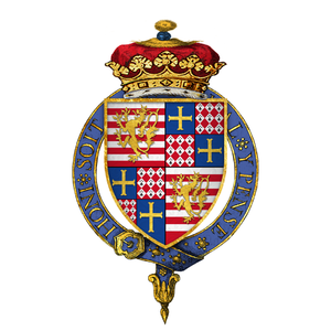 Charles Brandon, 1st Duke of Suffolk - Image: Coat of arms of Sir Charles Brandon, 1st Duke of Suffolk, KG