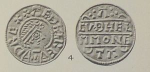 Æthelred of Wessex - Coin of King Æthelred