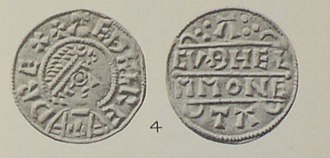 Æthelred I, King of Wessex - Coin of King Æthelred
