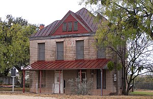 National Register of Historic Places listings in Coke County, Texas - Image: Coke county jail 2009