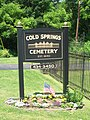 Cold Springs Cemetery Jun 09.JPG