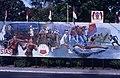 Collectie NMvWereldculturen, TM-20019422, Dia- Schildering ter gelegenheid van het 40-jarig jubileum van de viering van Onafhankelijkheidsdag, Henk van Rinsum, 08-1985.jpg